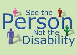 see the person not the disability