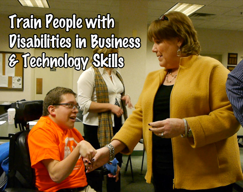 Train PWDs in Business and Technology Skills