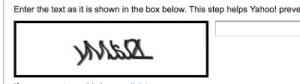 illegible captcha example