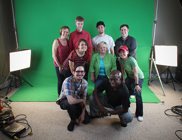 The cast and crew of Getting Around on Pace at the end of day 2.