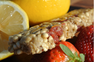 Strawberry Lemonade Gourmet Granola Bar by Kando Bakery