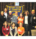 Evanston Rotary Club Supports Disability Awareness Players